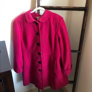 Old Navy Pink Dress Coat